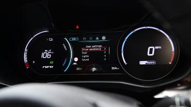 Kia e-Niro - digital dial cluster