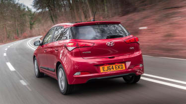 There's a chose of five petrol engines and two diesels, with power ranging from 74 to 118bhp