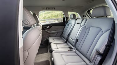 Audi Q7 SUV rear seats