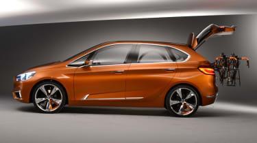 BMW Concept Active Tourer 2013 side profile