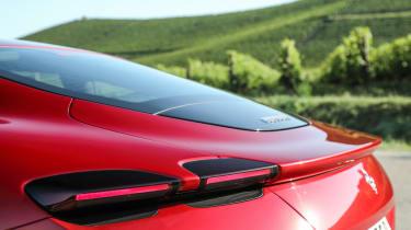 Ferrari Roma coupe tail