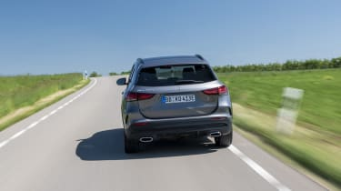 Mercedes GLA 250 e SUV rear driving