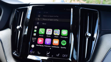 Volvo's Sensus infotainment system is used to operate everything from your phone to the climate control
