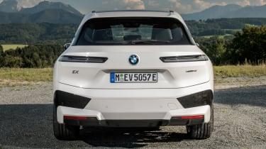 BMW iX SUV rear static