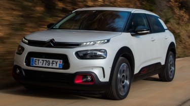 The C4 Cactus provides a spacious, airy interior with plenty of space in the back for two adults
