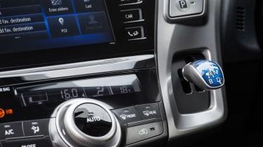 Toyota Prius+ MPV gear selector
