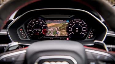 Audi RS Q3 Virtual Cockpit - navigation