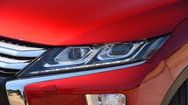 Sharply styled headlamps are an important part of the Eclipse Cross identity