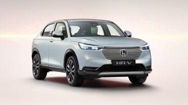 2021 Honda HR-V hybrid SUV - front 3/4