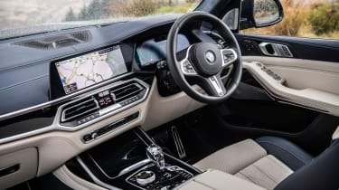 BMW X7 SUV interior