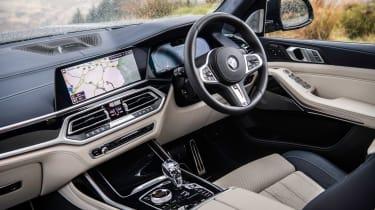 BMW X7 SUV interior