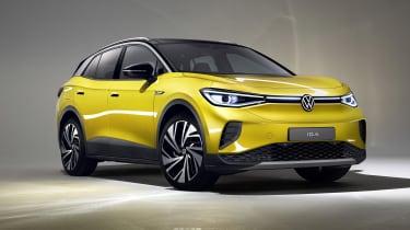 2021 Volkswagen ID.4 in yellow