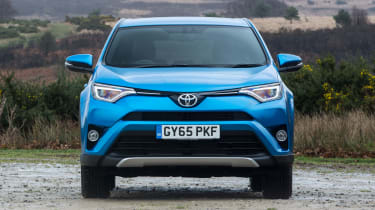 Even the entry-level Active version has a reversing camera that makes manoeuvring easier