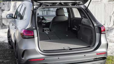 Mercedes GLA boot - seats down