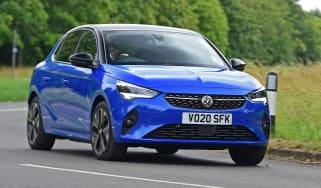 Vauxhall Corsa-e driving