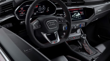 Audi RS Q3 steering wheel