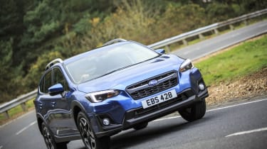 The Subaru XV SUV competes in a popular sector against rivals like the Peugeot 3008, SEAT Ateca and Nissan Qashqai