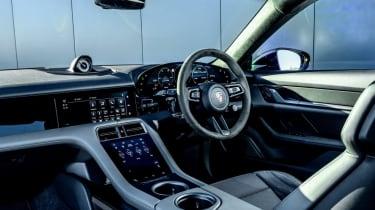 Porsche Taycan - interior