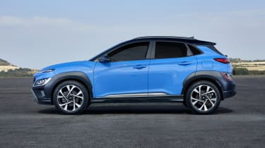 2020 Hyundai Kona - side view static