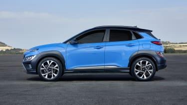 2020 Hyundai Kona - side view static