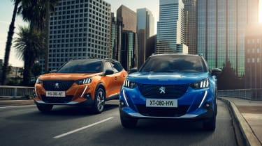 New Peugeot 2008 - e-2008 and 2008 GT