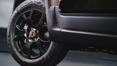 New Fiat Panda Trussardi limited edition - Wheel