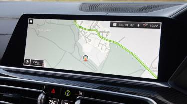 New BMW X6 2020 - sat-nav