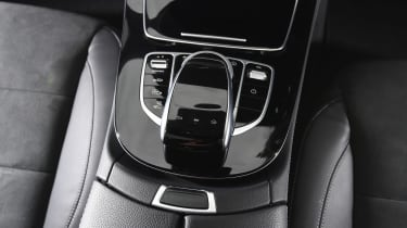 Infotainment is controlled by a central rotary controller, via voice control or using steering wheel mounted buttons