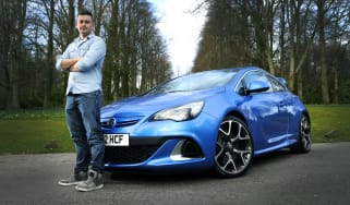 33126 Auto Express.Craig Graham (26) from Wishaw near Glasgow with his Vauxhall Astra GTC VXR 2.0.22/3/15Picture © Andy Buchanan/ UNP 0845 600 7737