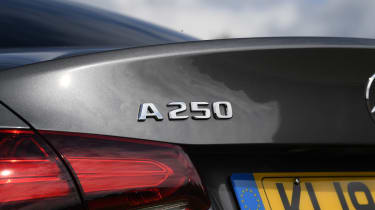 Mercedes A-Class saloon rear badge