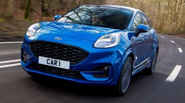 2020 Ford Puma - front tracking