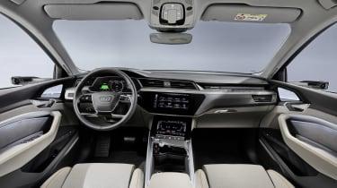Audi e-tron 50 quattro interior