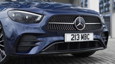 Facelifted Mercedes E-Class estate front end