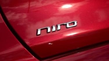 Kia Niro SUV rear badge