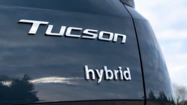 Hyundai Tucson SUV rear badge