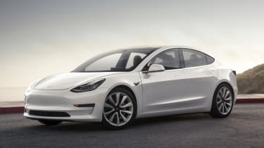 The Tesla Model 3 should arrive in the UK in 2018