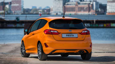 Ford Fiesta ST Performance Edition rear 3/4 static