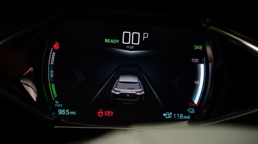 DS 3 Crossback E-Tense SUV instrument panel