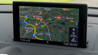 Audi A3 Sportback sat nav