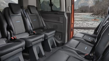 Ford Tourneo Custom Active rear seats
