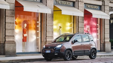 New Fiat Panda Trussardi limited edition - Front 3/4 static