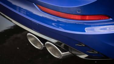 2021 Volkswagen Golf R Estate - exhaust