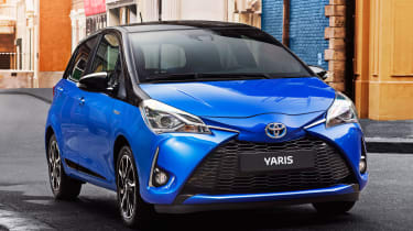Design, Bi-tone and Excel trims have a honeycomb front grille