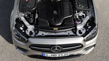Mercedes E-Class - engine bay