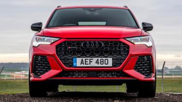 Audi RS Q3 front end view