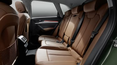 Audi Q5 facelift rear seats