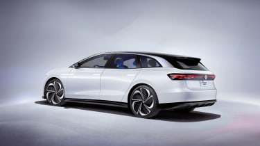 Volkswagen ID. Space Vizzion concept - side rear view