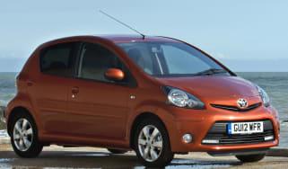 Toyota aygo city car 2013 new specs