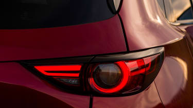 LED tail-lights have a distinctive signature at night