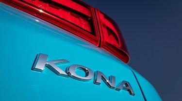 Hyundai Kona Electric SUV rear lights
